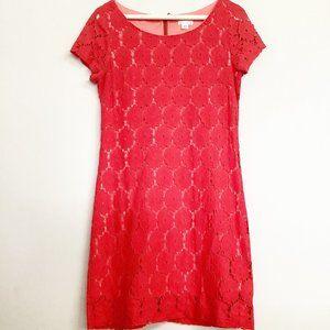 Xhilaration LACE LINED SHEATH DRESS Size M